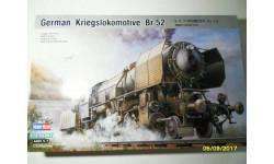 Немецкий военный локомотив BR-52, сборная модель (другое), 1:72, 1/72, HobbyBoss