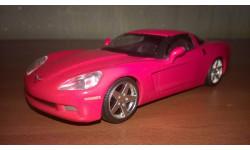 Chevrolet Corvette С6-Z51. Суперкары N6, журнальная серия Суперкары (DeAgostini), 1:43, 1/43