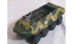 БТР-60П, Русские танки №27, журнальная серия Русские танки (GeFabbri) 1:72, 1/72