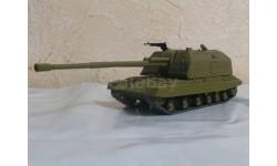 2С19 МСТА-С, Русские танки №48, журнальная серия Русские танки (GeFabbri) 1:72, 1/72
