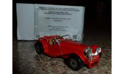 Jaguar SS 100, MATCHBOX