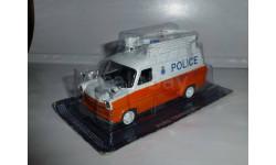 Полицейские Машины Мира №26 Ford Transit MK1, журнальная серия Полицейские машины мира (DeAgostini), 1:43, 1/43