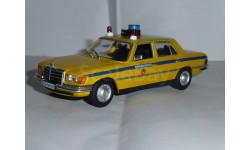 Полицейские Машины Мира №22 Mercedes-Benz 450 SEL, журнальная серия Полицейские машины мира (DeAgostini), 1:43, 1/43
