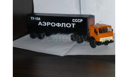 Камаз 5410, Ту-154