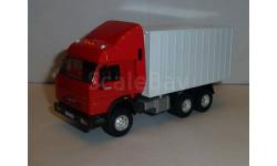 Камаз контейнеровоз, Бауэр, масштабная модель, 1:43, 1/43, Bauer/Cararama/Hongwell