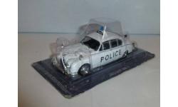 Полицейские Машины Мира №3 Jaguar MK II, журнальная серия Полицейские машины мира (DeAgostini), 1:43, 1/43