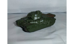 Русские танки №61 - Матильда Mk2, журнальная серия Русские танки (GeFabbri) 1:72, 1/72