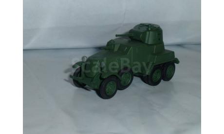Русские танки №53 - БА-10, журнальная серия Русские танки (GeFabbri) 1:72, 1/72