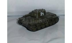 Русские танки №28 - КВ-1С, журнальная серия Русские танки (GeFabbri) 1:72, 1/72