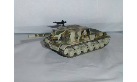 Русские танки №9 - ИСУ-152, журнальная серия Русские танки (GeFabbri) 1:72, 1/72