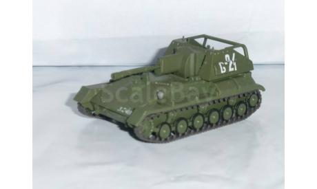 Русские танки №49 - СУ-76М, журнальная серия Русские танки (GeFabbri) 1:72, 1/72