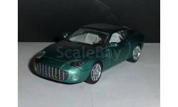 Суперкары №43 Aston Martin DB7 Zagato, журнальная серия Суперкары (DeAgostini), 1:43, 1/43