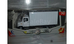 ЗИЛ Бычок фургон, Бауэр, масштабная модель, 1:43, 1/43, Bauer/Cararama/Hongwell