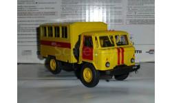 Автомобиль на Службе №79 ГАЗ-66 Горноспасательный, журнальная серия Автомобиль на службе (DeAgostini), scale43