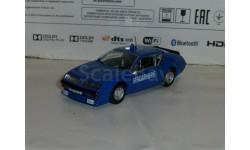 Полицейские Машины Мира №11 Alpine Renault A310, журнальная серия Полицейские машины мира (DeAgostini), 1:43, 1/43