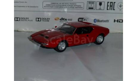 Суперкары №42 De Tomaso Pantera GTS, журнальная серия Суперкары (DeAgostini), 1:43, 1/43