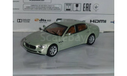 Суперкары №64 Maserati Quattroporte, журнальная серия Суперкары (DeAgostini), 1:43, 1/43