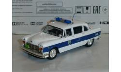 Полицейские Машины Мира №35 Checker Marathon, журнальная серия Полицейские машины мира (DeAgostini), 1:43, 1/43