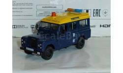 Полицейские Машины Мира №9 Land Rover 110 long, журнальная серия Полицейские машины мира (DeAgostini), 1:43, 1/43