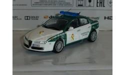 Полицейские Машины Мира №43 - Alfa Romeo 159, журнальная серия Полицейские машины мира (DeAgostini), 1:43, 1/43