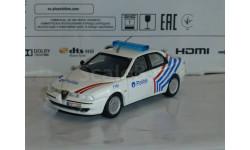 Полицейские Машины Мира №49 - Alfa Romeo 156, журнальная серия Полицейские машины мира (DeAgostini), 1:43, 1/43