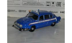 Полицейские Машины Мира №57 - Tatra 603, журнальная серия Полицейские машины мира (DeAgostini), 1:43, 1/43