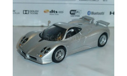 Суперкары №21 Pagani Zonda C12 S, журнальная серия Суперкары (DeAgostini), 1:43, 1/43