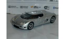 Суперкары №31 Koenigsegg CC 8S, журнальная серия Суперкары (DeAgostini), 1:43, 1/43