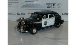 Полицейские Машины Мира №42 - Chrysler Airflow CRS 1936, журнальная серия Полицейские машины мира (DeAgostini), 1:43, 1/43