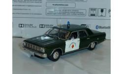 Полицейские Машины Мира №15 Dodge Dart, журнальная серия Полицейские машины мира (DeAgostini), 1:43, 1/43