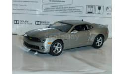 Суперкары № 58 Chevrolet Camaro SS, журнальная серия Суперкары (DeAgostini), 1:43, 1/43