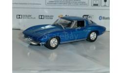 Суперкары №77 Chevrolet Corevette Stingray 1963, журнальная серия Суперкары (DeAgostini), 1:43, 1/43