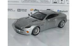 Суперкары №12 Aston Martin V12 Vanquish, журнальная серия Суперкары (DeAgostini), 1:43, 1/43