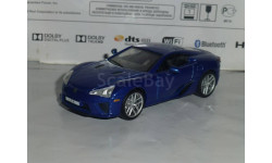 Суперкары №24 Lexus LFA, журнальная серия Суперкары (DeAgostini), 1:43, 1/43