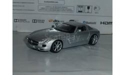 Суперкары №14 Mercedes SLS AMG, журнальная серия Суперкары (DeAgostini), Mercedes-Benz, 1:43, 1/43