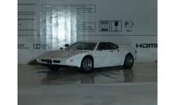 Суперкары №19 BMW M1, журнальная серия Суперкары (DeAgostini), 1:43, 1/43