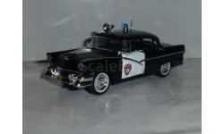 Полицейские Машины Мира №1 Ford Fairlane 1956, журнальная серия Полицейские машины мира (DeAgostini), 1:43, 1/43