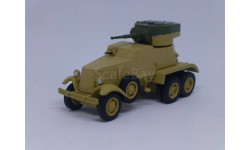 Русские танки №106 БА-6, журнальная серия Русские танки (GeFabbri) 1:72, scale72