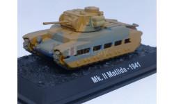 Танки Мира. Коллекция №6 Британский пехотный танк Matilda Mk.II, журнальная серия Танки Мира 1:72, 1/72