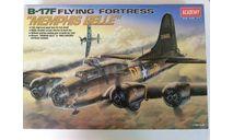 Boeing -17F Flying Fortress 1/72 Academy, сборные модели авиации, scale72