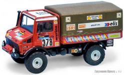 Gaffe Mercedes Unimog  Glasurit Dakar 1982 Kit #9902