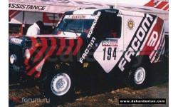 Mini Racing Mercedes 280G Facom Dacar #0192 Kit
