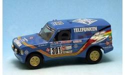 Range Rover Telefunken Dakar 1988г. Gaffe Kit 1/43