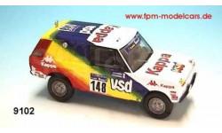 Range Rover VSD Kappa Dakar 1983 1/43 Gaffe #9102/1 Kit