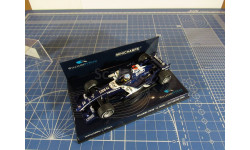 F1 Williams FW28 Wurz 1/43 Minichamps, масштабная модель, 1:43, BMW