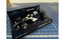 F1 Willims Showcar 2006 Rosberg 1/43 Minichamps, масштабная модель, 1:43, BMW