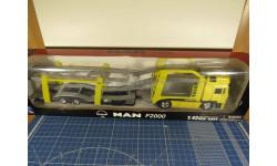 Man F2000 Автовоз 1/43 New Ray, масштабная модель, scale43