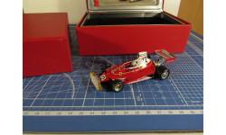 F1 Ferrari 312T 1975 Miki Lauda 1/43 Hot Wheels / IXO, масштабная модель, 1:43