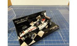 F1 BAR Honda 007 Sato 2005 1/43 Minichamps, масштабная модель, scale43