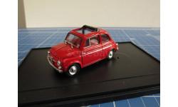 Fiat 500 1/43 BRUMM It., масштабная модель, 1:43